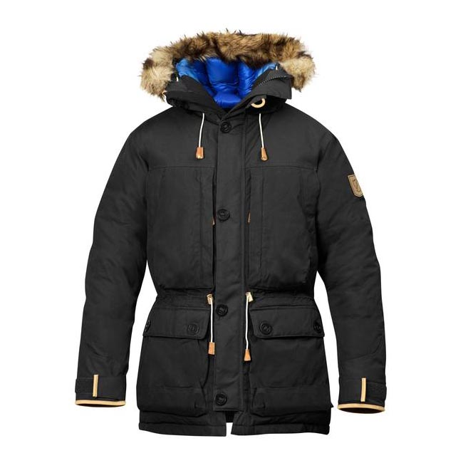 Men Fjallraven EXPEDITION DOWN PARKA NO. 1 DARK GREY Outlet Online