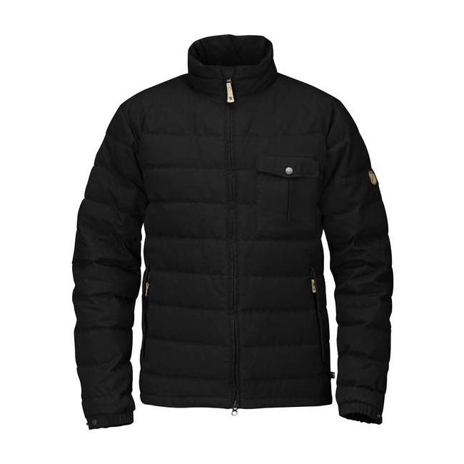 Men Fjallraven ÖVIK LITE JACKET BLACK Outlet Online