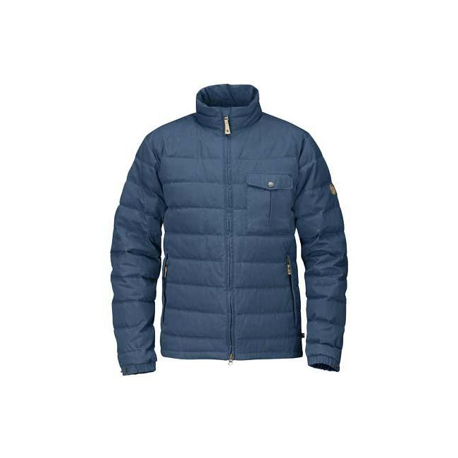 Men Fjallraven ÖVIK LITE JACKET UNCLE BLUE Outlet Online