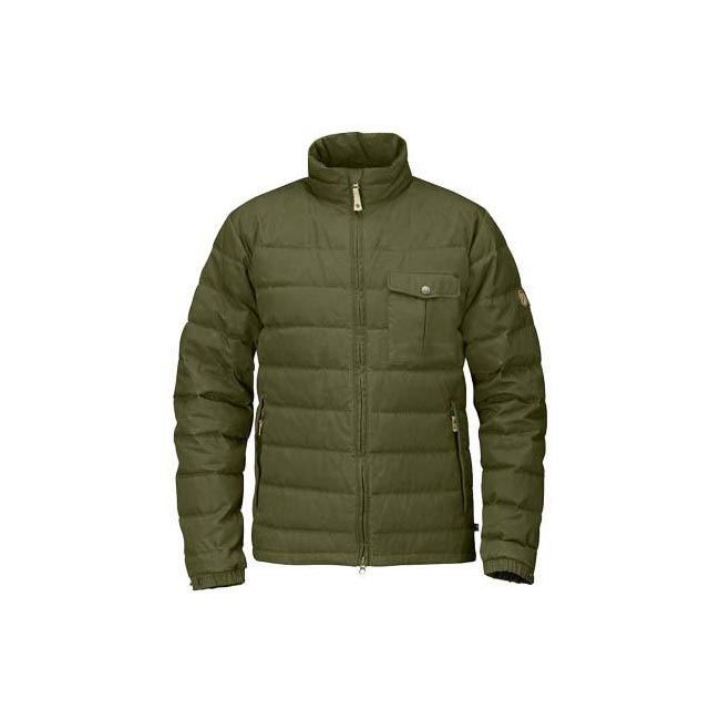 Men Fjallraven ÖVIK LITE JACKET GREEN Outlet Online