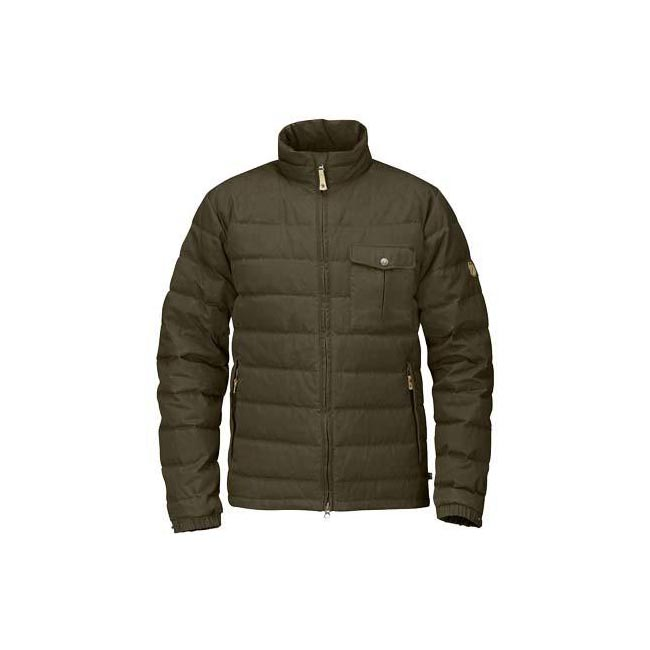 Men Fjallraven ÖVIK LITE JACKET DARK OLIVE Outlet Online