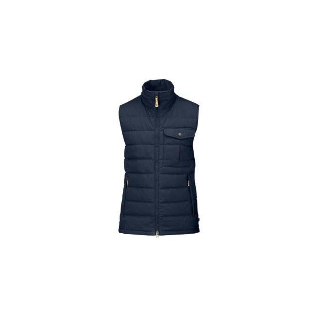 Men Fjallraven OVIK LITE VEST DARK NAVY Outlet Online