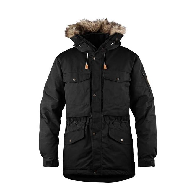 Men Fjallraven SINGI DOWN JACKET BLACK Outlet Online