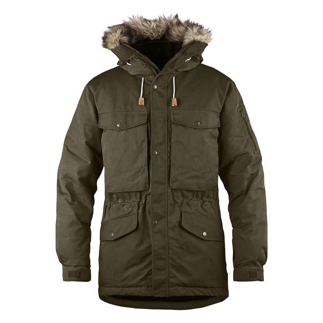 Men Fjallraven SINGI DOWN JACKET DARK OLIVE Outlet Online