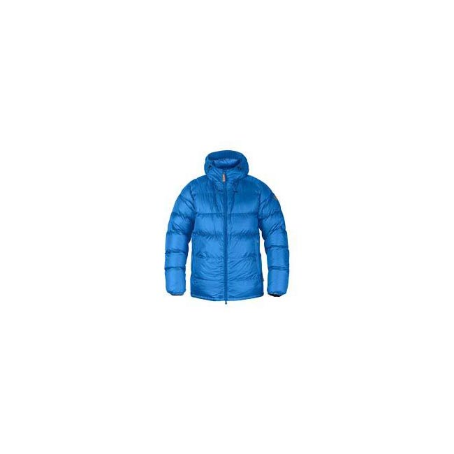 Men Fjallraven KEB DOWN JACKET UN BLUE Outlet Online