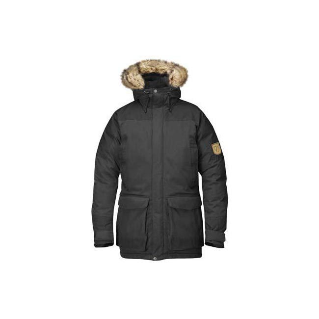 Men Fjallraven KYL PARKA DARK GREY Outlet Online