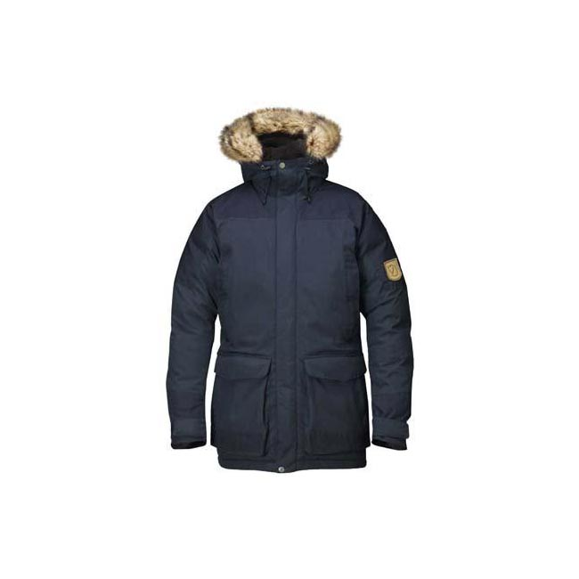 Men Fjallraven KYL PARKA DARK NAVY Outlet Online