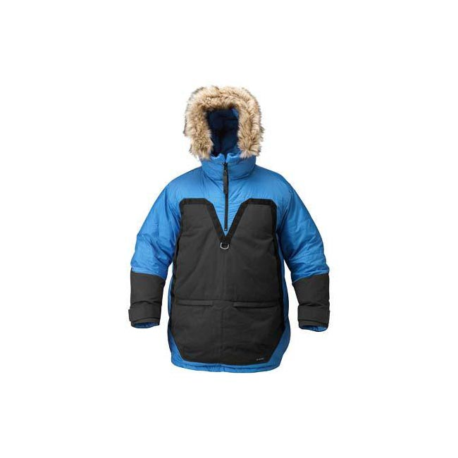 Men Fjallraven POLAR PARKA ICE BLUE Outlet Online