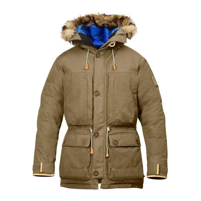Men Fjallraven EXPEDITION DOWN PARKA NO. 1 SAND Outlet Online