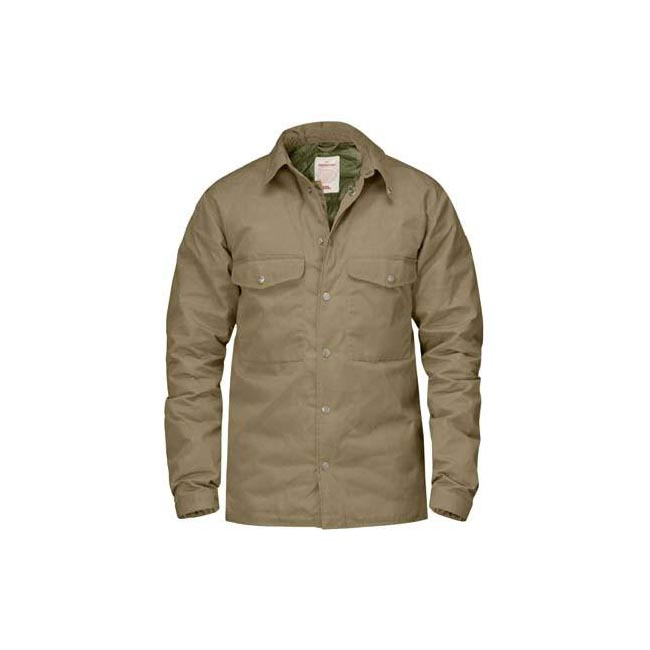 Men Fjallraven DOWN SHIRT NO.1 SAND Outlet Online