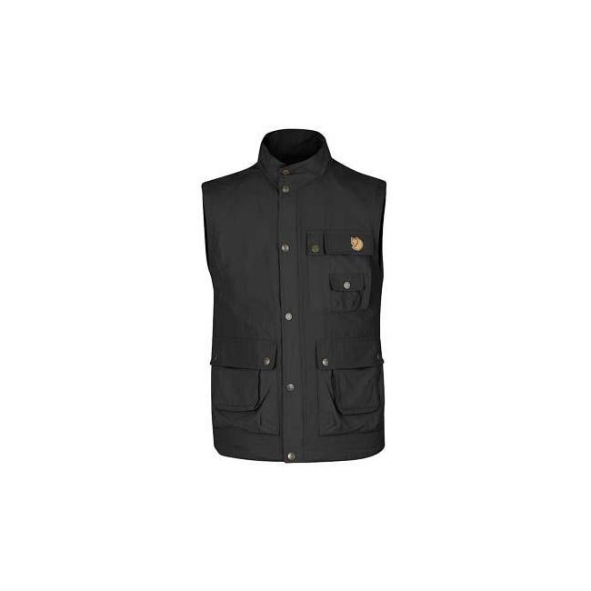 Men Fjallraven WILD VEST MT DARK GREY Outlet Online