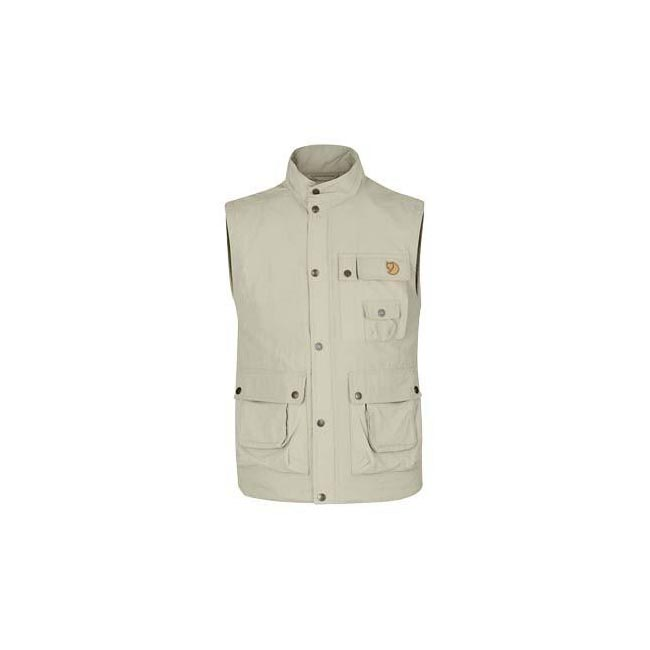 Men Fjallraven WILD VEST MT LIGHT BEIGE Outlet Online