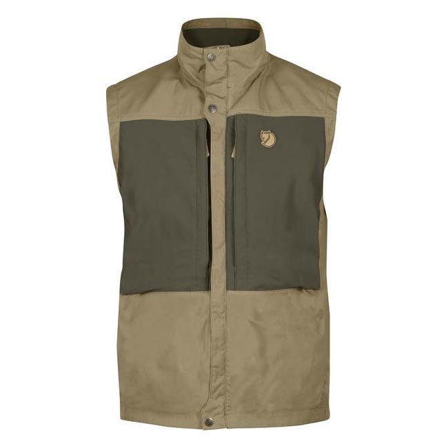 Men Fjallraven KEB VEST SAND Outlet Online