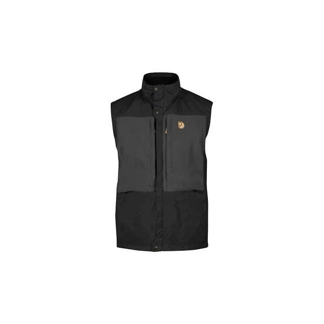 Men Fjallraven KEB VEST BLACK Outlet Online