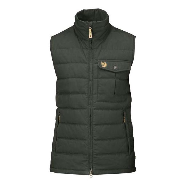 Men Fjallraven OVIK LITE VEST MOUNTAIN GREY Outlet Online