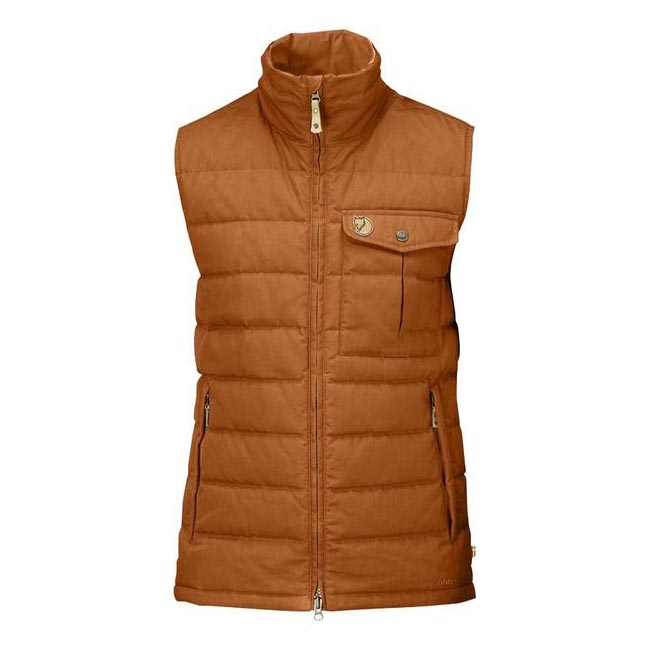 Men Fjallraven OVIK LITE VEST AUTUMN LEAF Outlet Online