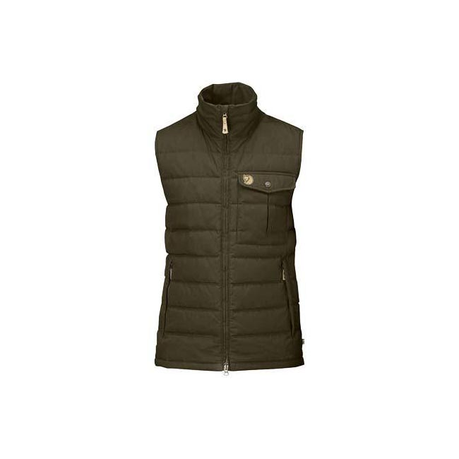 Men Fjallraven OVIK LITE VEST DARK OLIVE Outlet Online