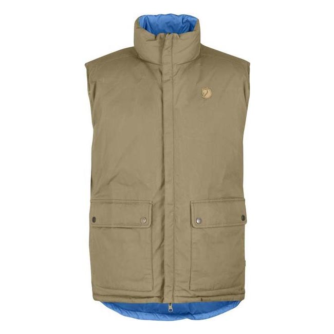 Men Fjallraven DOWN VEST NO. 6 SAND Outlet Online
