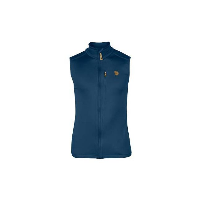 Men Fjallraven KEB FLEECE VEST UNCLE BLUE Outlet Online
