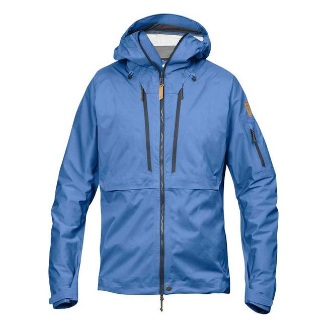 Men Fjallraven KEB ECO-SHELL JACKET UN BLUE Outlet Online