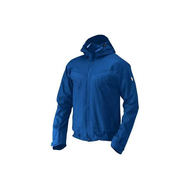 Men Fjallraven ECO-TRAIL JACKET ATLANTIC BLUE Outlet Online