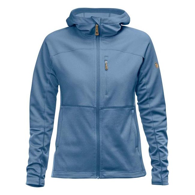 Women Fjallraven ABISKO TRAIL FLEECE W BLUE RIDGE  Outlet Online