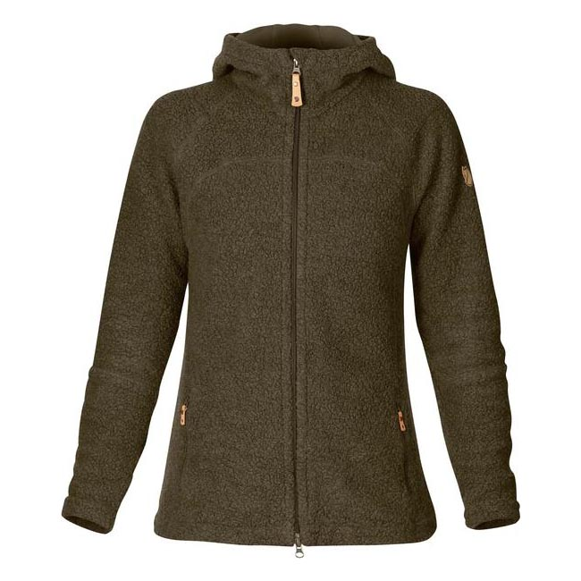 Women Fjallraven KAITUM FLEECE DARK OLIVE  Outlet Online