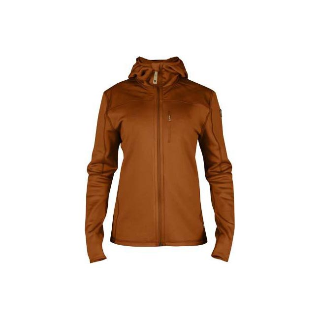 Women Fjallraven KEB FLEECE JACKET W AUTUMN LEAF  Outlet Online