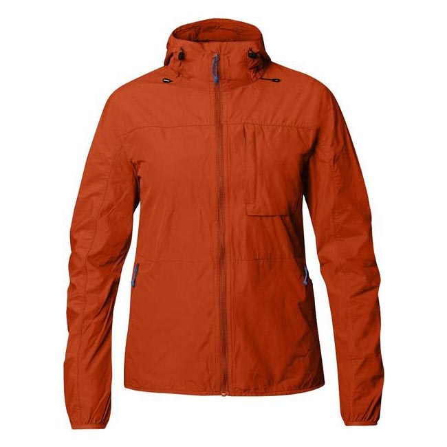Women Fjallraven HIGH COAST WIND JACKET W FLAME ORANGE  Outlet Online