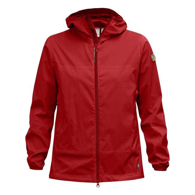 Women Fjallraven ABISKO WINDBREAKER JACKET W RED  Outlet Online