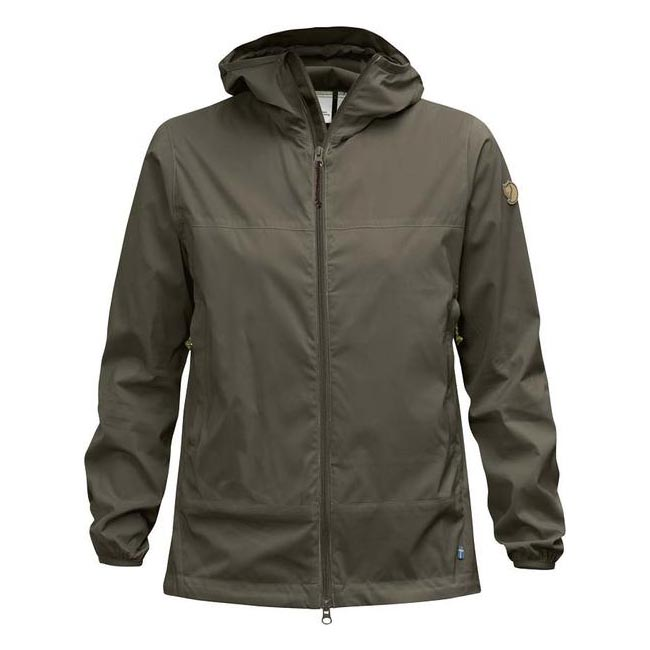 Women Fjallraven ABISKO WINDBREAKER JACKET W TARMAC Outlet Online