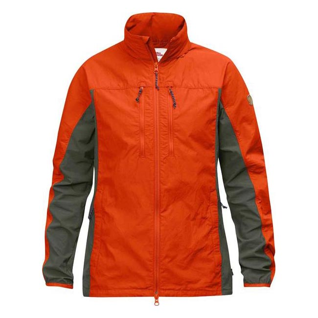 Women Fjallraven HIGH COAST HYBRID JACKET W FLAME ORANGE  Outlet Online