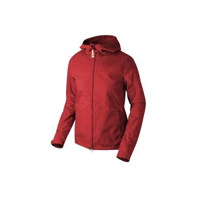 Women Fjallraven STINA JACKET RED  Outlet Online
