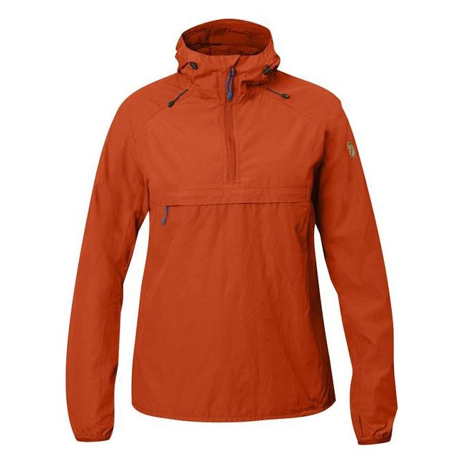 Women Fjallraven HIGH COAST WIND ANORAK W FLAME ORANGE  Outlet Online