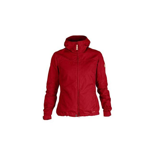 Women Fjallraven STINA JACKET DEEP RED Outlet Online