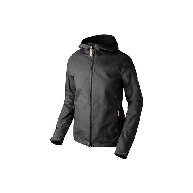 Women Fjallraven STINA JACKET BLACK  Outlet Online