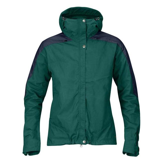 Women Fjallraven SKOGSÖ JACKET W COPPER GREEN  Outlet Online