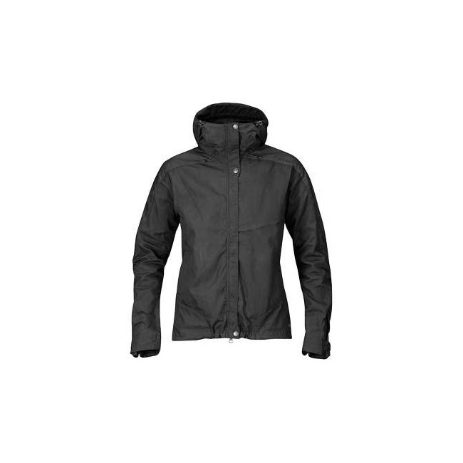 Women Fjallraven SKOGSÖ JACKET W BLACK  Outlet Online