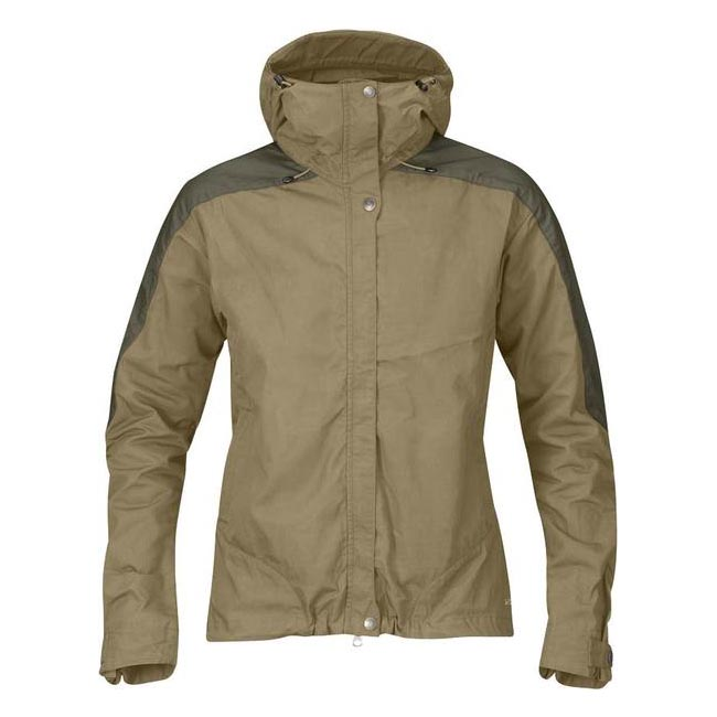 Women Fjallraven SKOGSÖ JACKET W SAND  Outlet Online