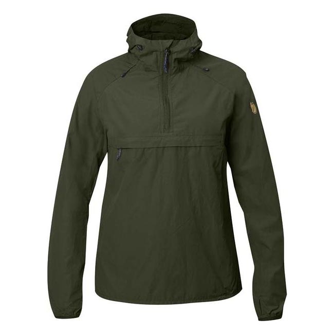 Women Fjallraven HIGH COAST WIND ANORAK W OLIVE  Outlet Online
