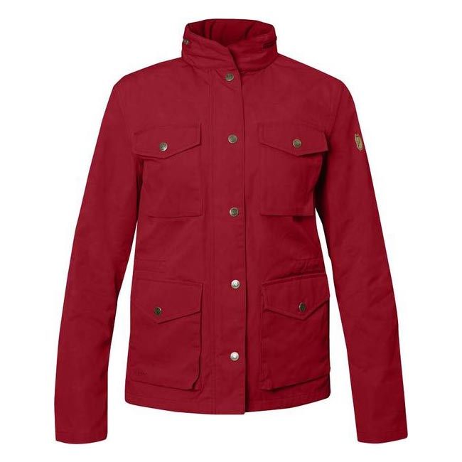 Women Fjallraven RÄVEN WOMEN\'S JACKET DEEP RED Outlet Online