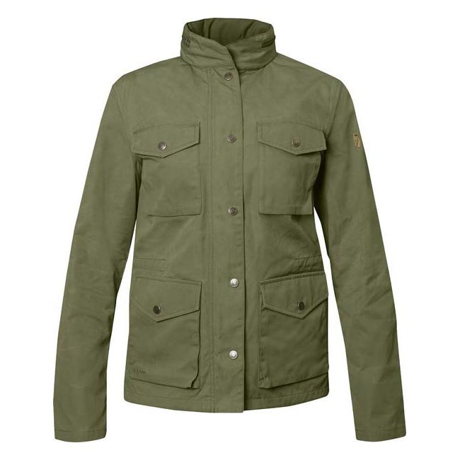Women Fjallraven RÄVEN WOMEN\'S JACKET GREEN Outlet Online