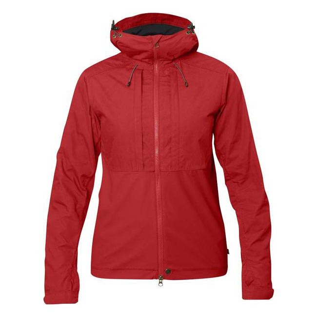 Women Fjallraven ABISKO LITE JACKET W RED  Outlet Online
