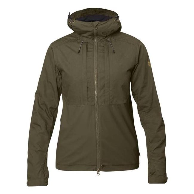 Women Fjallraven ABISKO LITE JACKET W DARK OLIVE  Outlet Online