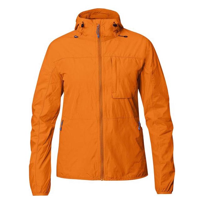 Women Fjallraven HIGH COAST WIND JACKET W SEASHELL ORANGE  Outlet Online