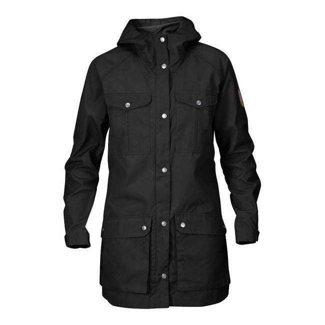Women Fjallraven GREENLAND PARKA LIGHT W BLACK Outlet Online