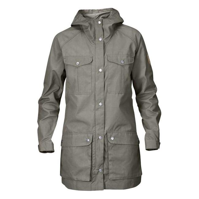 Women Fjallraven GREENLAND PARKA LIGHT W FOG Outlet Online