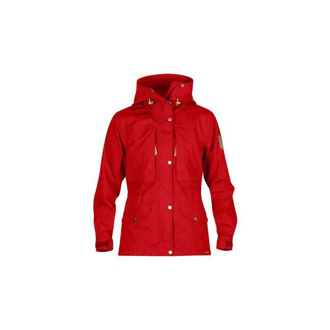 Women Fjallraven SINGI TREKKING JACKET W RED Outlet Online