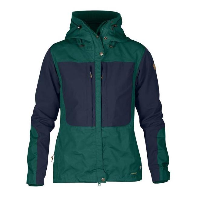 Women Fjallraven KEB WOMEN\'S JACKET COPPER GREEN Outlet Online