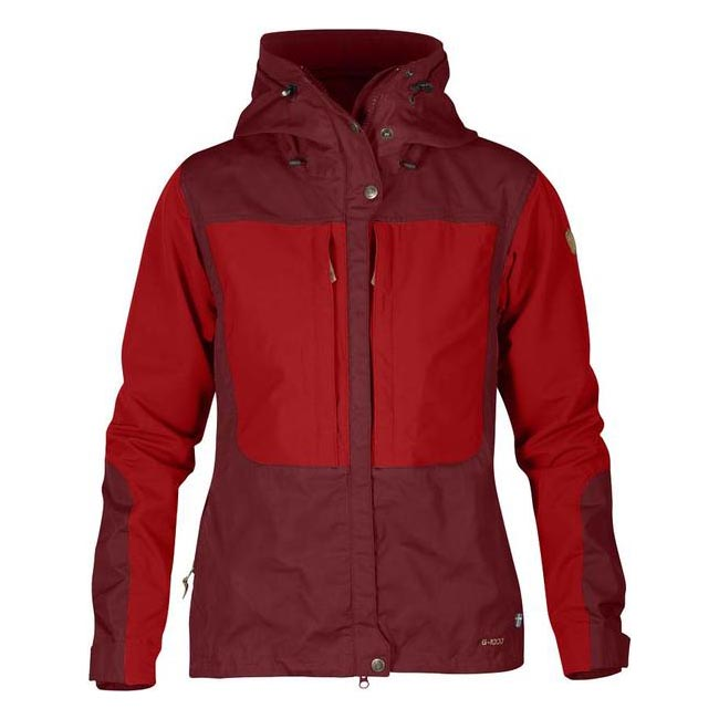Women Fjallraven KEB WOMEN'S JACKET OX RED  Outlet Online